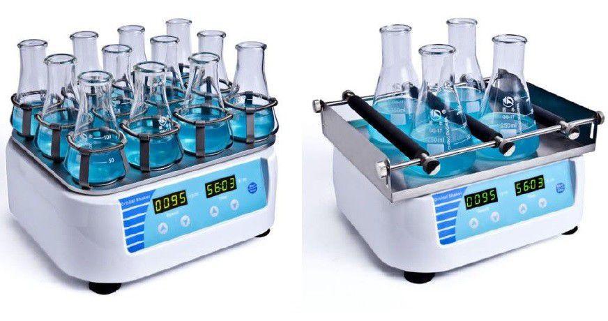 Agitadores (Shakers) Digital, Timer, Com Movimento Orbital, Amplitude 10MM, 20MM e 30 MM, Capacidade de Agitar 2,5KG e 3,0KG - MODELO BIOGS