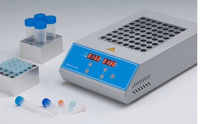 Banho Seco 150°C com Capacidade para 1,2 ou 4 Blocos para Microplacas de PCR, Microtubos de 0,2 a 2,0ML e Tubos de Ensaio de 6MM até 40MM. MODELO BIODKT-200