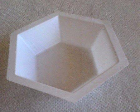 Barquinha de Pesagem, Moldada em Plástico, Hexagonal Forma Alta, Modelo: HS-14251B