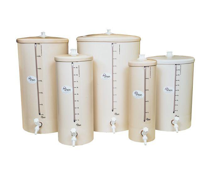Barrilete em PVC Para Armazenamento de Água Purificada ou Reagente