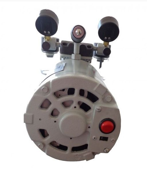 Bomba de Vácuo e Compressor de Ar, 38 Litros/M, 695 mmHg, Potência do Motor 1/4HP, Modelo: 131