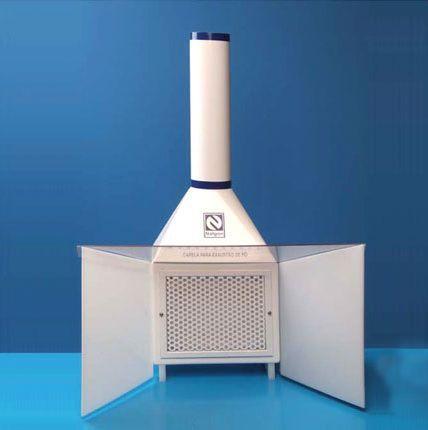 Capela Exaustão de Pó para uso em Laboratórios de Manipulação, Balanças e Encapsulador ? Modelo: 3750
