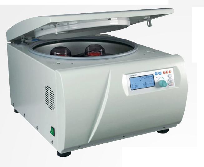 Centrífugas digitais NEOFUGE 1600 / 1600R Microprocessada, 15.000 rpm com e sem refrigeração, capacidade máxima 4x400 ml