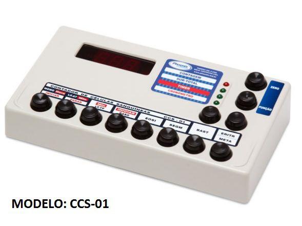 Contador de Células 11 ou 12 teclas - Modelo: CCS