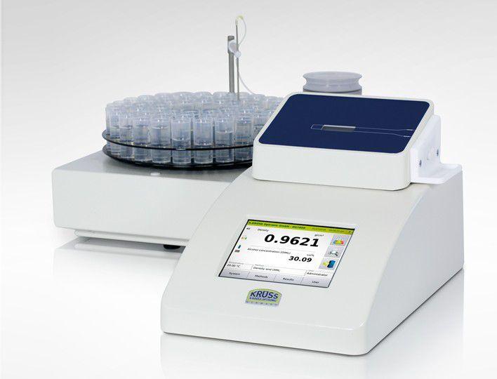 Densímetros automáticos para medições de líquidos, emulsões, pastas ou outros em tubo fundo U oscilatório. Série DS7700/DS7800