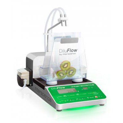 Diluidor Gravimétrico Automático, com 1 Bombas Peristálticas, Pesagem de 3kg - Modelo: DiluFlow 3Kg