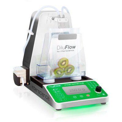 Diluidor Gravimétrico Automático Para até 6 Diluentes, 1 Bombas Peristálticas, Pesagem de 1kg - Modelo: DiluFlow Elite 1Kg