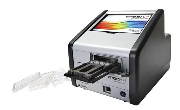 Espectrofotômetro com Absorbância UV-Vis, 200-999NM, para Microplacas, Com Agitação/Incubação, Software Gen5 - Modelo: EPOCH2
