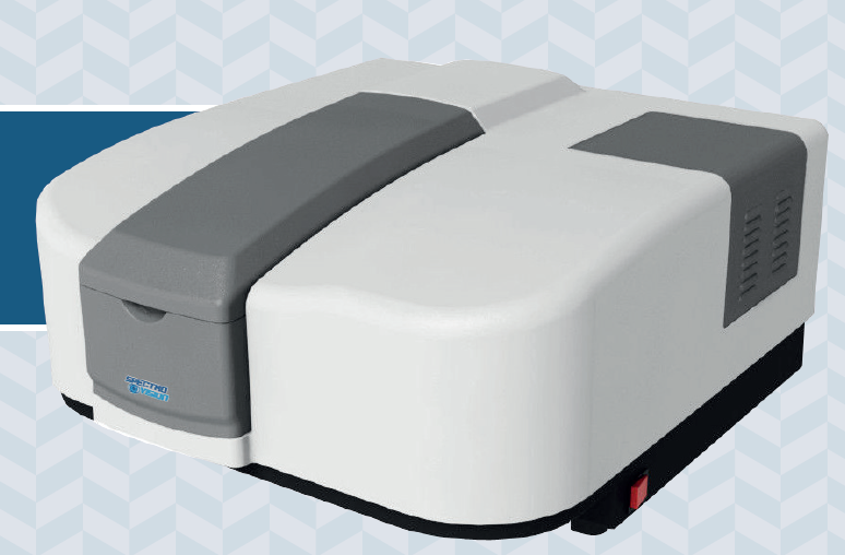 Espectrofotômetro duplo feixe de alta performance com banda de espectral variável de 0,1 a 5,0 nm Modelo T92+PC