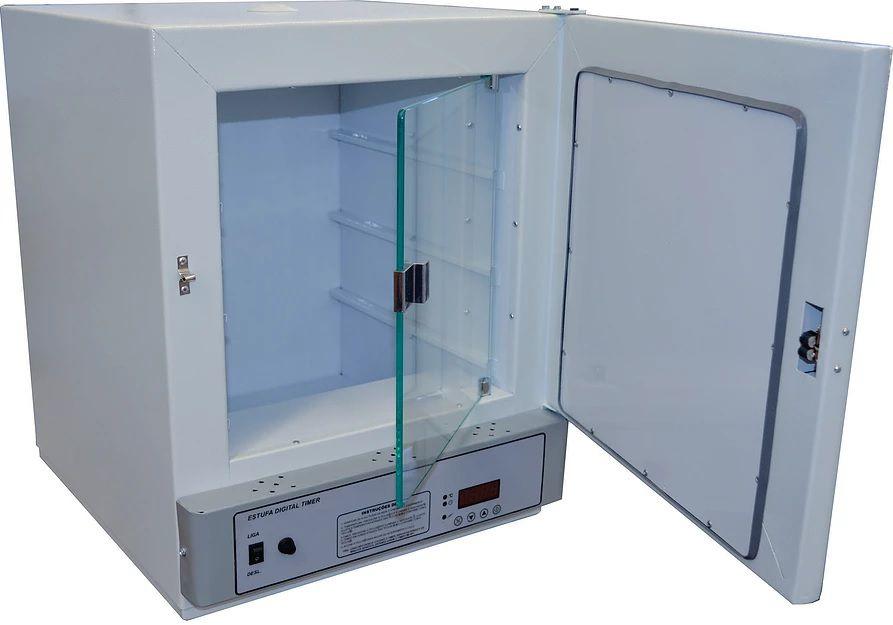Estufa de Cultura Bacteriológica, Temperatura de 5° à 70°C, Interior em Inox, Controlador Digital de Timer e Temperatura, Disponíveis de 11 a 280 Litros ? Modelo: SSBI