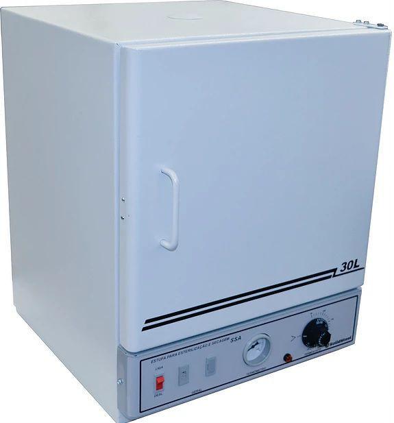Estufa de Esterilização e Secagem, Temperatura de 50° à 250°C, Interior em inox, Analógica, Disponíveis de 11 a 280 Litros ? Modelo: SSAI
