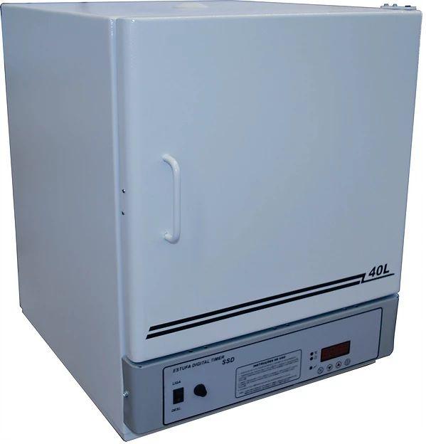 Estufa de Esterilização e Secagem, Temperatura de 50° à 250°C, Interior em Inox, Controlador Digital, Disponíveis de 11 a 280 Litros ? Modelo: SSDI