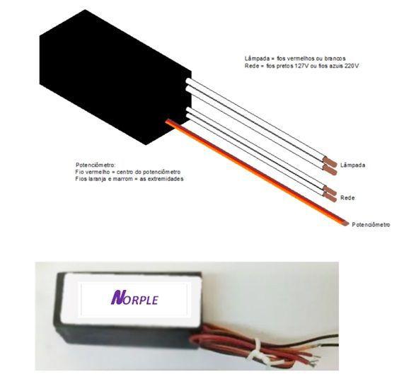 Fonte interna para microscópios equipados com lâmpada de halogênio de 6volts ou 12volts, 10wats, 20watts e 30watts de 110 volts ou 220volts (monovolts).