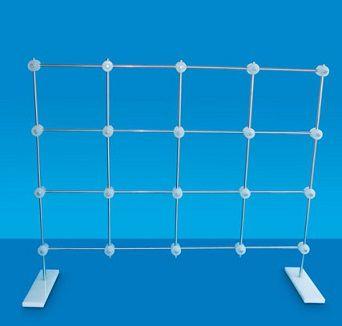 Grade de Fixação de Vidraria em bancada ou Parede – Modelo: 3950