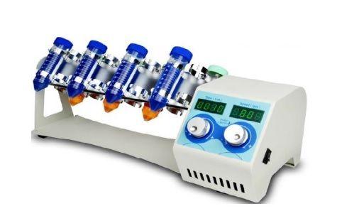 Homogeneizador Rotativo, Movimento Vertical tipo Rotisserie com para 64 Microtubos de 1.5ml, 22 Tubos de 15ml e 16 Tubos de 50ml (Tipo Falcon). Timer e Controle de Velocidade ? Modelo: BIOVM80-IC