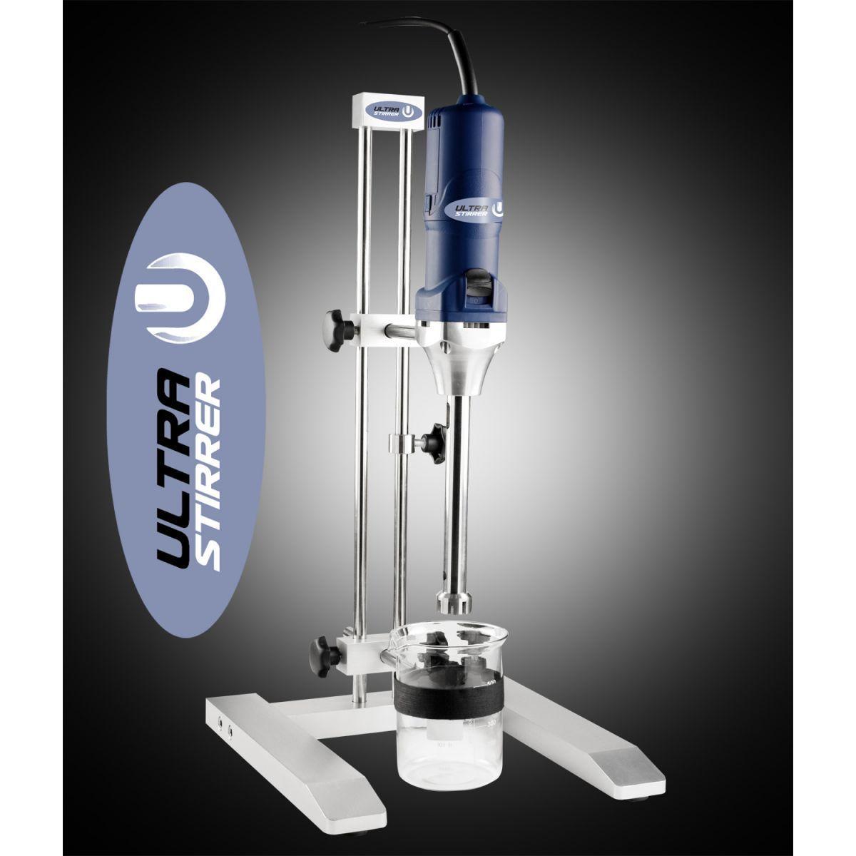 Homogenizador de Bancada para Microtubos, Velocidade Máx 29.000RPM, Com Ponteira de 5mm, Rotor/Estator Para Grandes Volumes, Suporte de bancada, 220volts - Modelo: ULTRA-380 H5