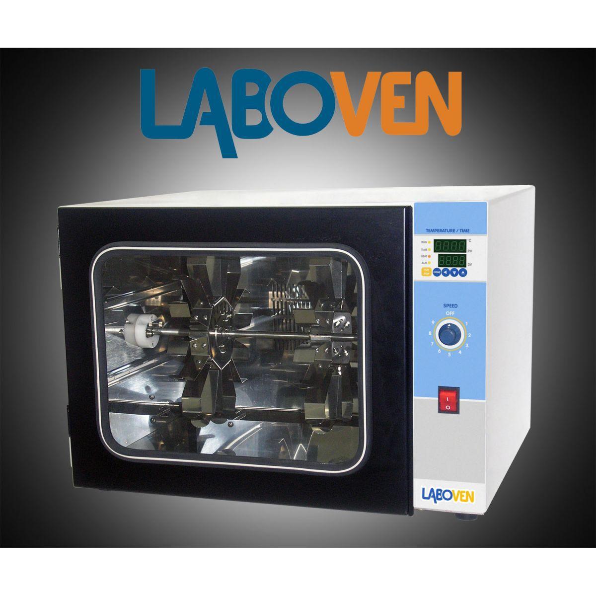 Incubadora para Hibridização, Rotor para 8 Garrafas 60x200mm, 110V - Modelo: LH-8