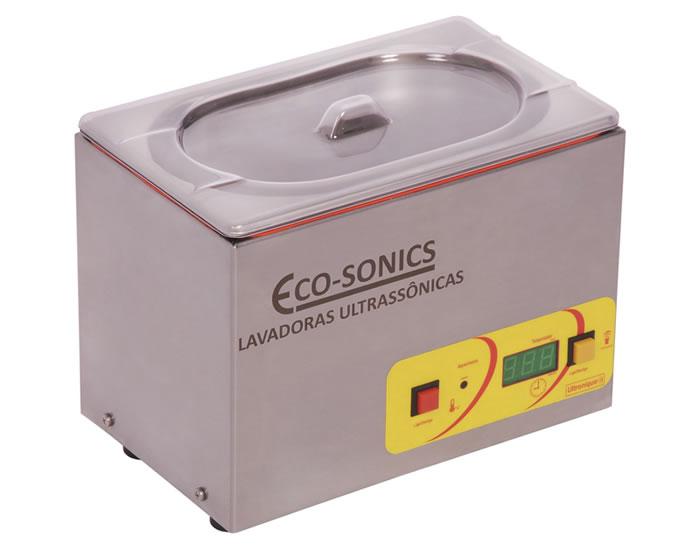 Lavadora Ultrassônica Digital, Capacidade 3,8 Litros – 40khz - 88Watts - Com Aquecimento e Timer – Modelo: Q3.8/40A