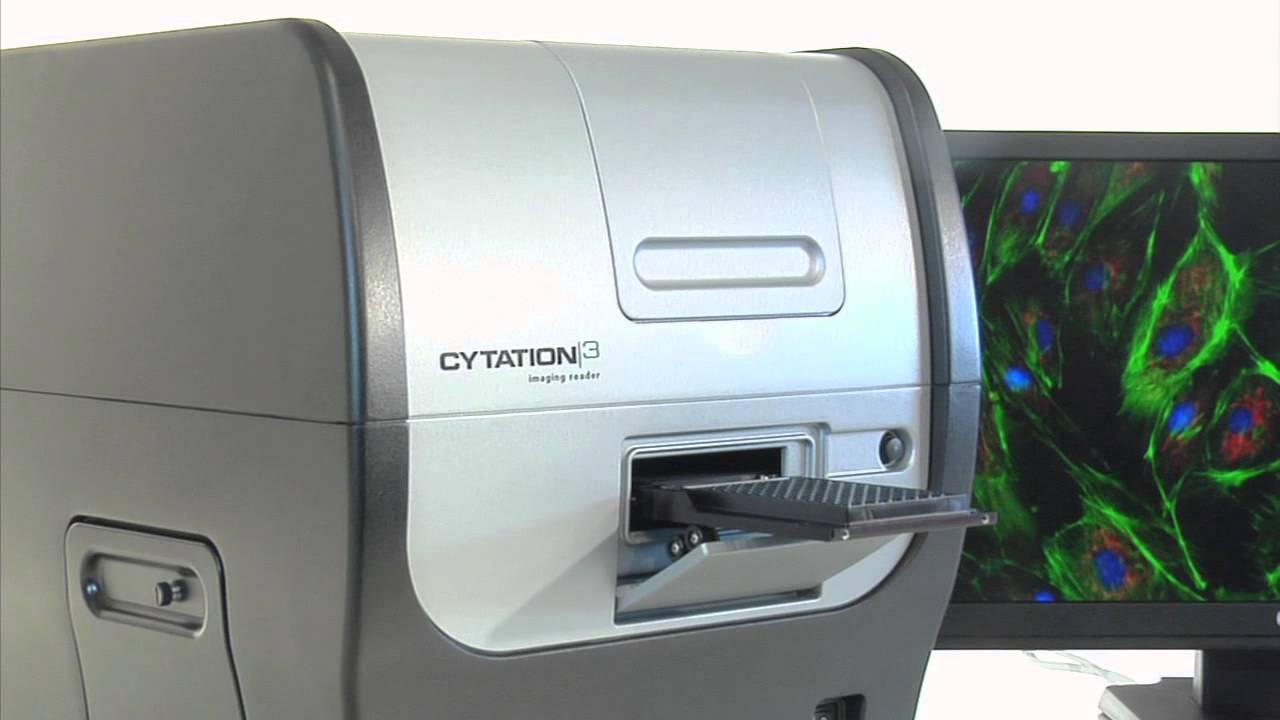 Leitora Multidetecção e Sistema de Captura de Imagens Mod. Cytation3