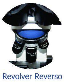 Microscópio Biológico Trinocular 1000x, Objetivas Planacromáticas, Iluminação por Led – Modelo: B20TP