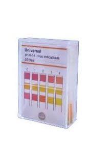 Papel Indicador de ph, Quantitativo, Faixa de 0-14 ph - Modelo: QPH-14