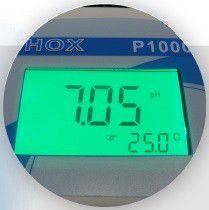 Phmetro Digital de Bancada Microprocessado C/Eletrodo, Sensor de Temperatura, Bivolt - Modelo: P1000