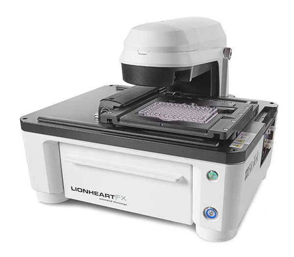 Sistema Automático para Captura de Imagens de Células Vivas - Modelo: LIONHEART FX