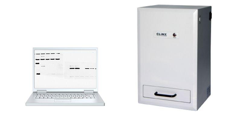 Sistema Semi-Automático para Fotodocumentação de Amostras por Quimiluminescência com Cabine Escura Compacta. Modelo: MBS-CHEMISOLO