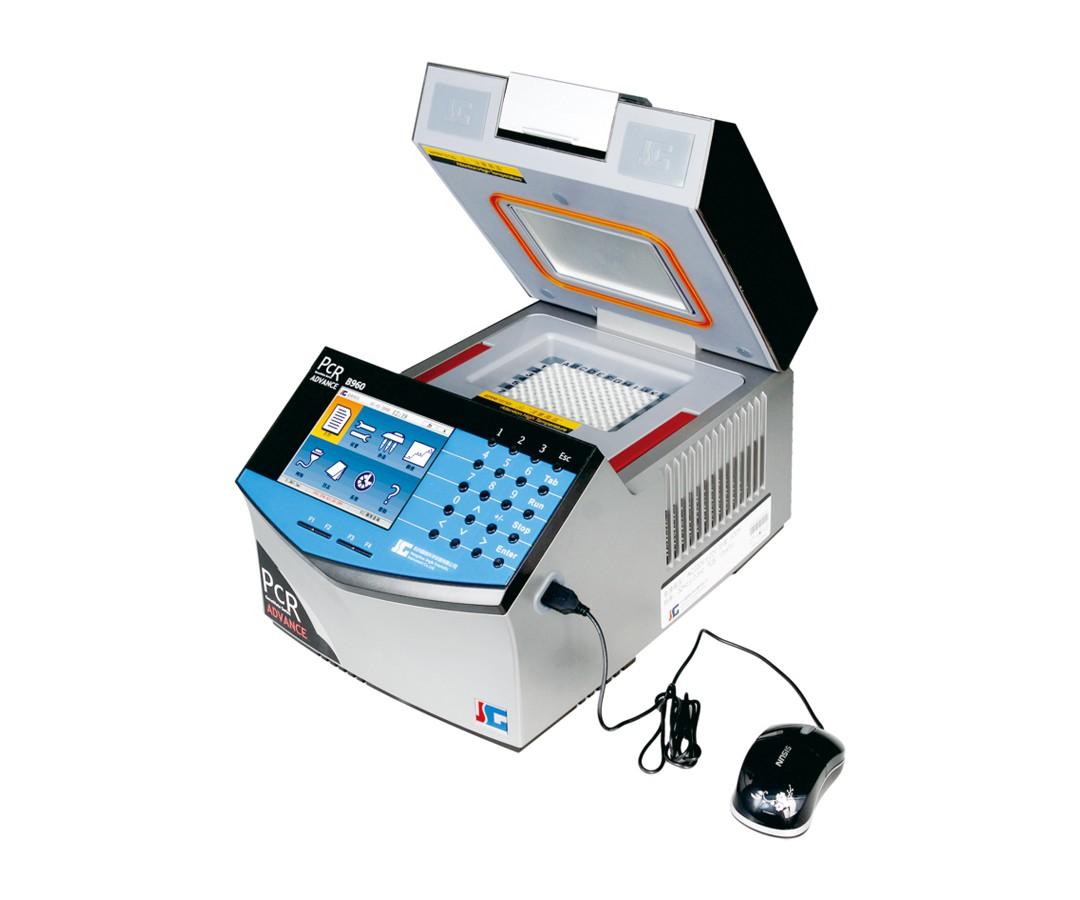 Termociclador Automático com Gradiente, Equipado Originalmente com um Bloco Misto com 96 poços x 0.2ML mais 77 Poços x 0,5ML, Tela Colorida, Aceita Mouse para Operações – Modelo: B960