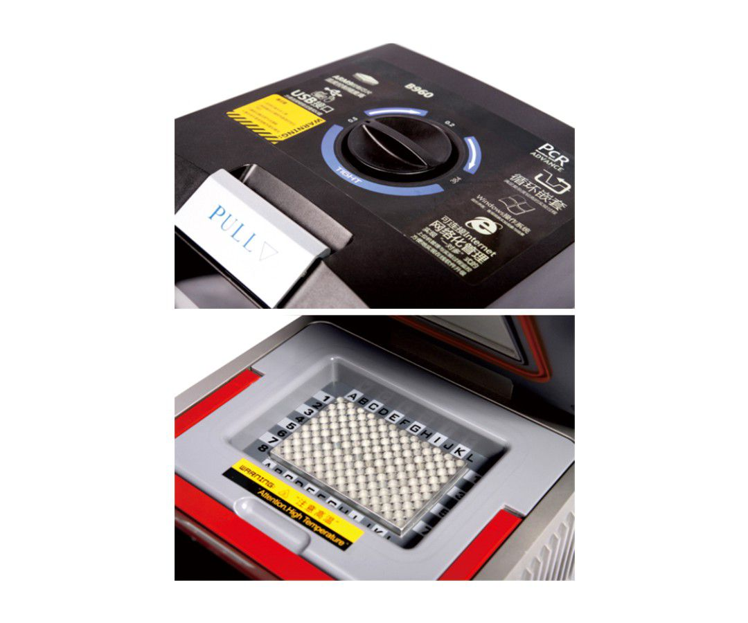 "TERMOCICLADOR AUTOMÁTICO COM GRADIENTE, TELA LCD COLORIDA 5.7"", MEMÓRIA 1000 PROGRAMAS, ACEITA BLOCOS 54x0.5ml, 96x0.2ml, 384 POÇOS E BLOCO MISTO 96x0.2ml + 77x0.5ml"