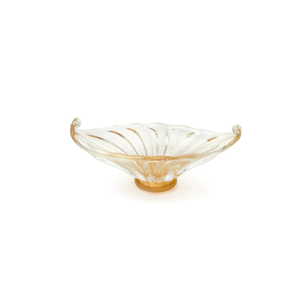 Bowl Cherry - Transparente com Ouro