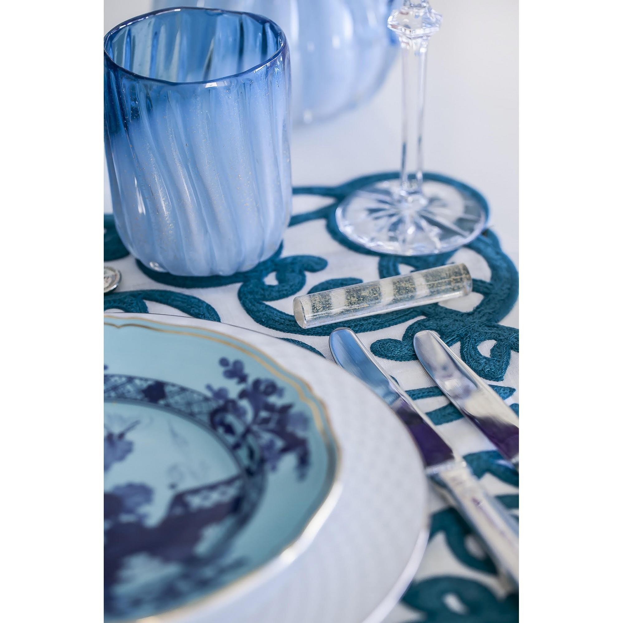 Pré Venda - Copo - Azul Acqua com Pérola