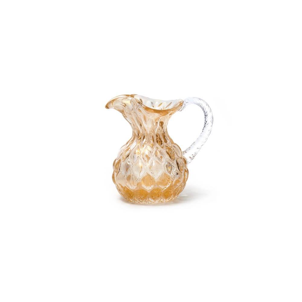 Jarra Oro - Transparente com Ouro