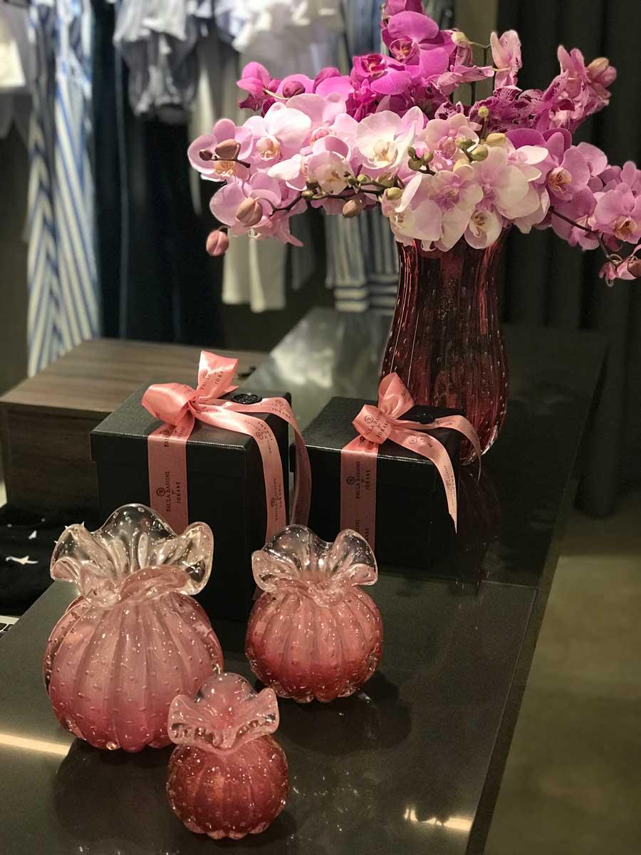 Murano Cherry for Iorane - Pink degradê - P