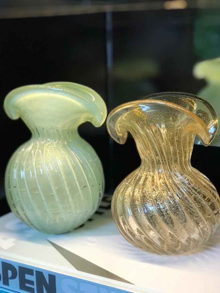Trouxinha Leque - Verde Opalina M
