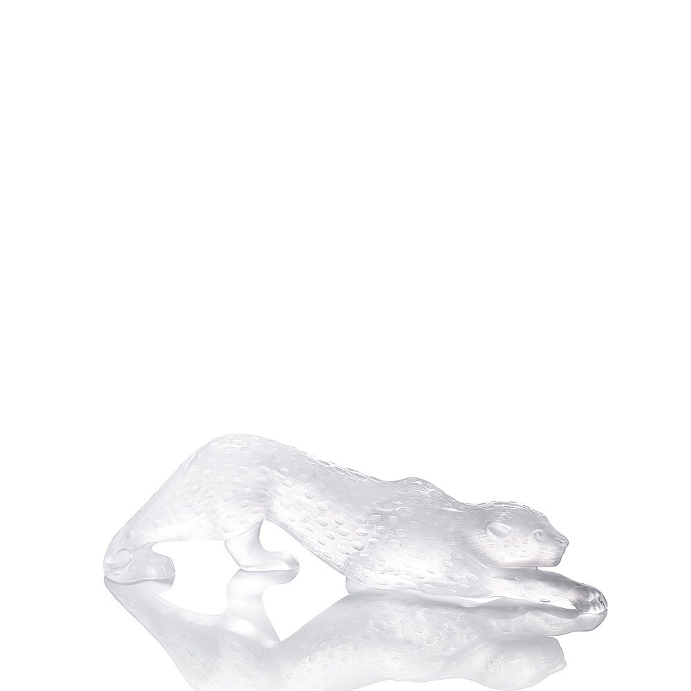 ZEILA PANTHER FIGURE - CLEAR