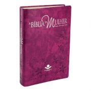 BIBLIA DA MULHER CAPA PURPURA NOBRE