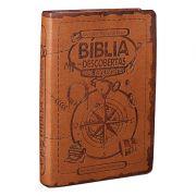 BIBLIA DESCOBERTAS P/ADOLESCENTES CP SINT MARROM