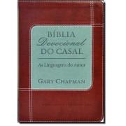 BIBLIA - DEVOCIONAL DO CASAL - VERMELHA