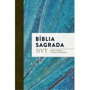 Bíblia NVT - Azul claro (letra normal/brochura)