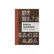 BÍBLIA - NVT MADEIRA , LETRA NORMAL, FLEXÍVEL