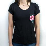 Camiseta Infantil Família Floral