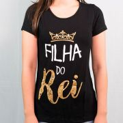 Camiseta Infantil Filha do Rei