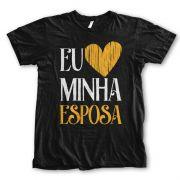 Camiseta - Eu amo minha Esposa