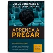 Livro - Aprenda A Pregar | Josué Gonçalves
