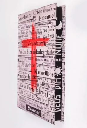 BÍBLIA CRUZ - JESUSCOPY  - Loja Amo Família