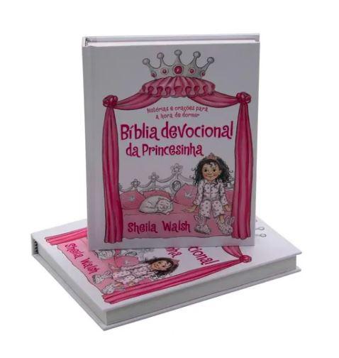 BIBLIA - DEVOCIONAL DA PRINCESINHA  - Loja Amo Família
