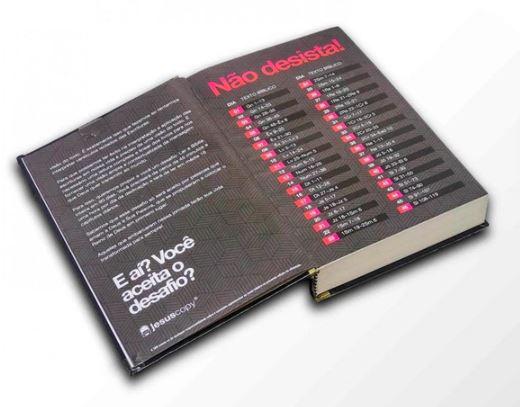 Bíblia - Este livro é sobre Jesus - Jesus Copy  - Loja Amo Família
