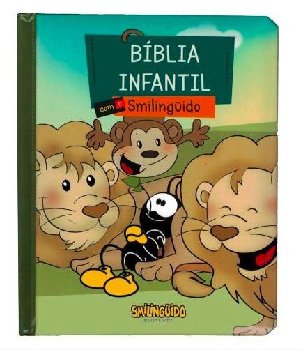 Bíblia Infantil Ilustrada - Smilinguido  - Loja Amo Família