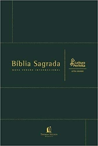 BIBLIA LEITURA PERFEITA - CAPA VERDE (LETRA GRANDE)  - Loja Amo Família